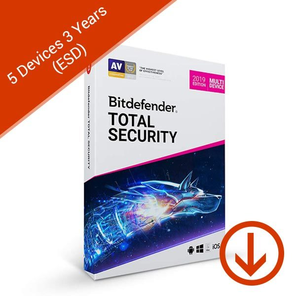Bitdefender-Total-Security-2019-Multi-Device-5-Devices-3-Years-(ESD)-Box