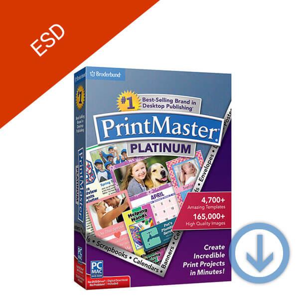 Broderbund Printmaster 7 Platinum-esd-2