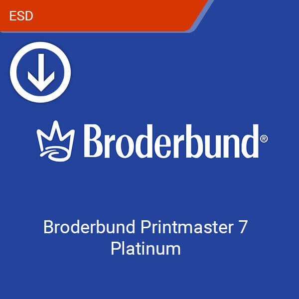 Broderbund Printmaster 7 Platinum-esd