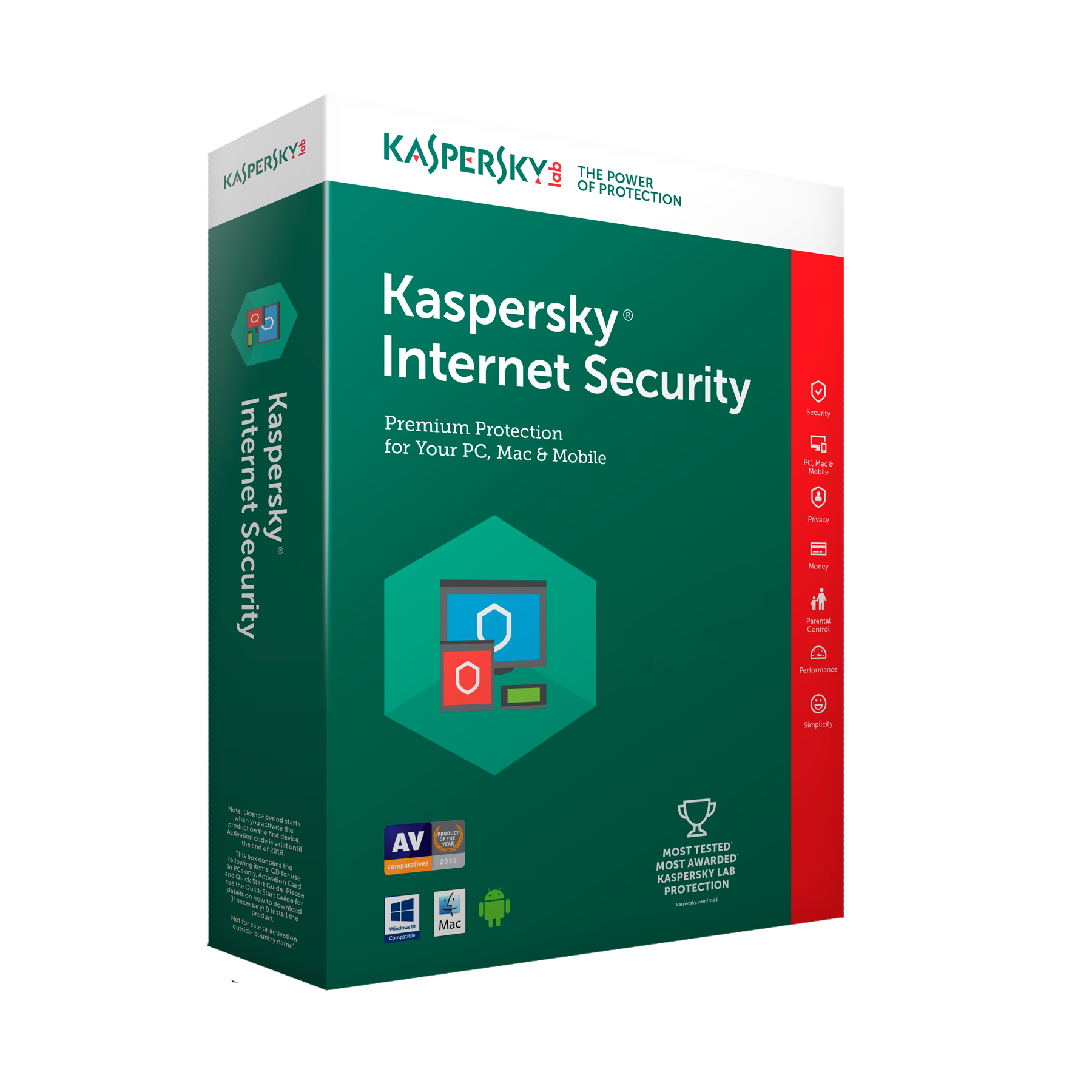 kaspersky internet security product