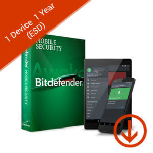 bitdefender mobile security 1 device 1 year esd