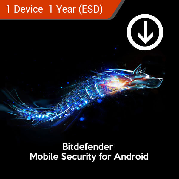 bitdefender mobile security for android 1 device 1 year esd