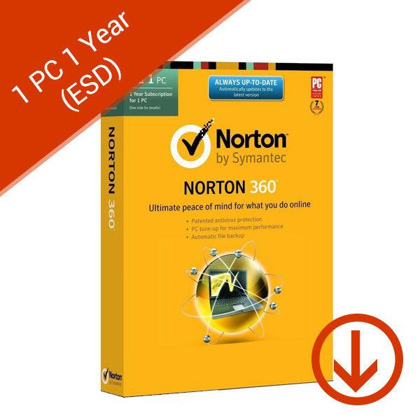 Norton 360 Antivirus 1 PC 1 Year (ESD)