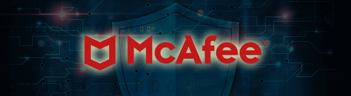mcafee product banner