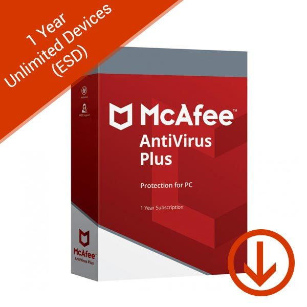 McAfee-Antivirus-Plus-2019-Unlimited-Users-1-Year-(ESD)-Box