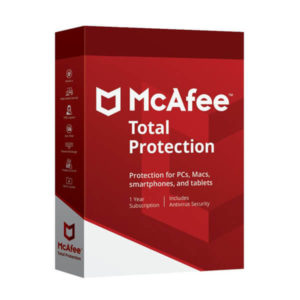 McAfee Total Protection all devices security
