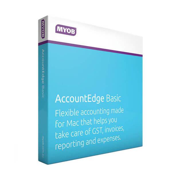 MYOB Account Edge Basic for MAC – box