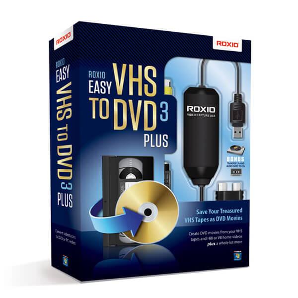 Roxio Easy VHS to DVD 3 Plus – box