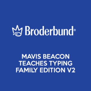 broderbund mavis beacon teaches typing family edition v2