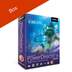 CyberLink PowerDirector 16 Ultimate-box