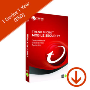 trend micro mobile security 1 device 1 year esd
