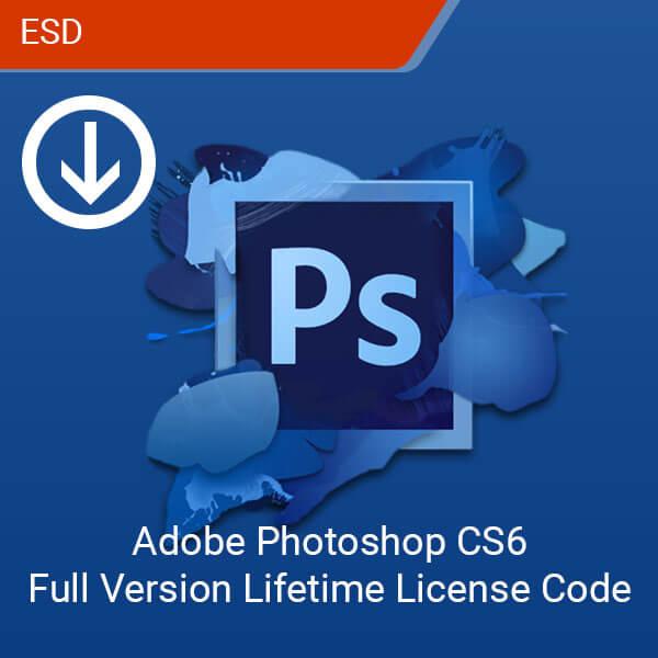 Adobe Photoshop CS6 Full Version Lifetime License Code