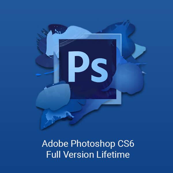 adobe photoshop CS6 full version lifetime product image