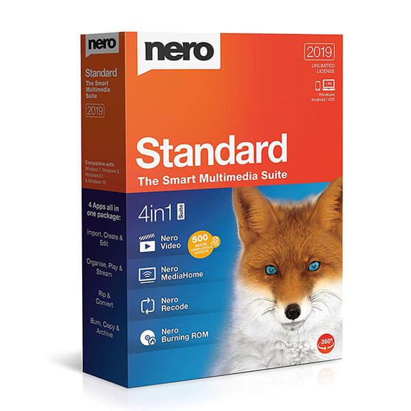 Nero Standard Suite – box