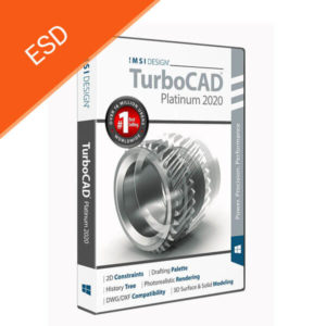 TurboCad Platinum 2020 - box