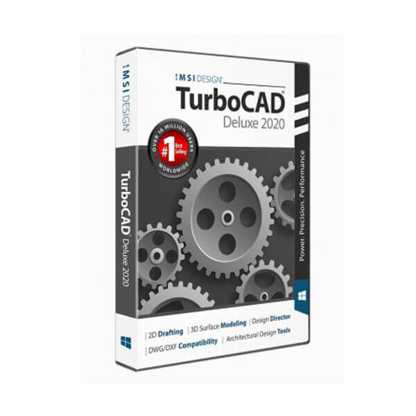 TurboCAD Deluxe 2020 product for architecture, engineer, and designer
