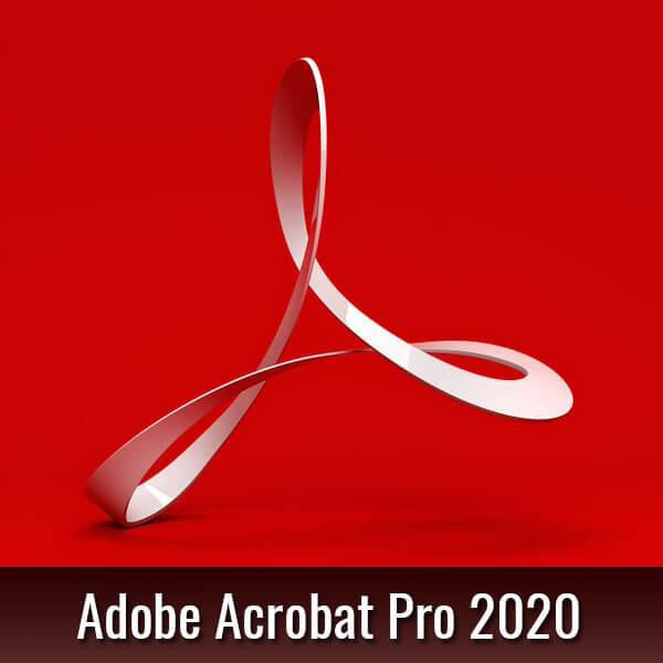 adobe acrobat 2020 Pro PDF reader
