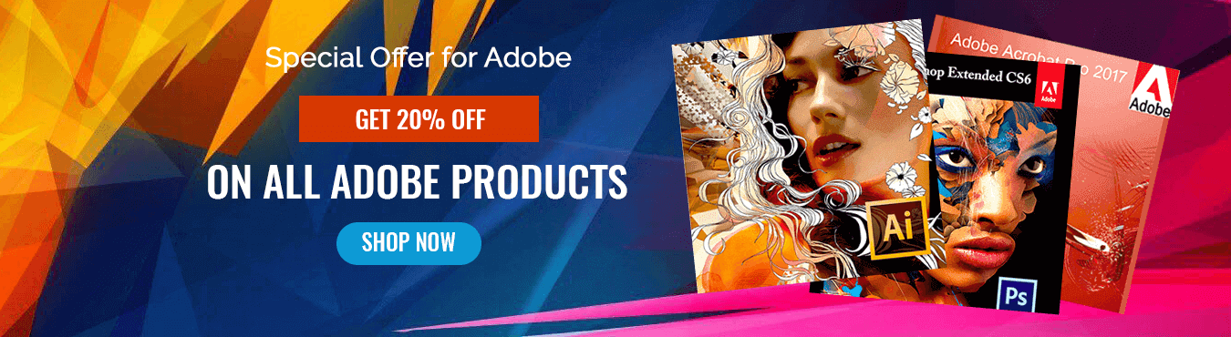 adobe products banner