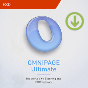 omnipage ultimate esd