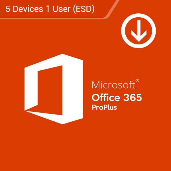Microsoft-Office-365-Pro-Plus-1-User-5-Devices-Yearly-Subscription-(ESD)-Primary