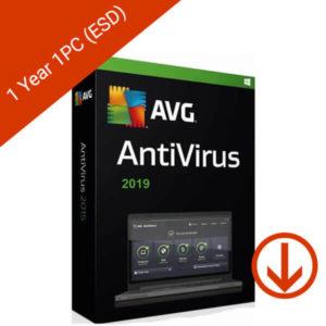 avg antivirus 2019 1 year 1 pc esd