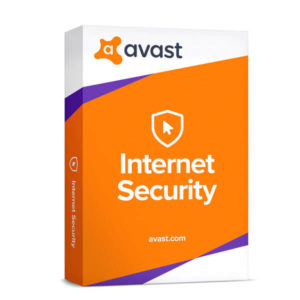 Avast Internet Security box