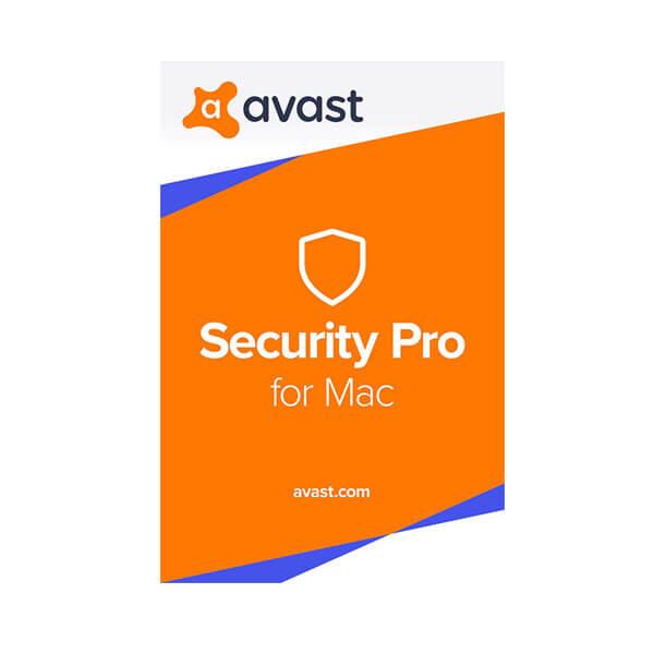 Avast Security Pro 1 Year 1 Mac – box