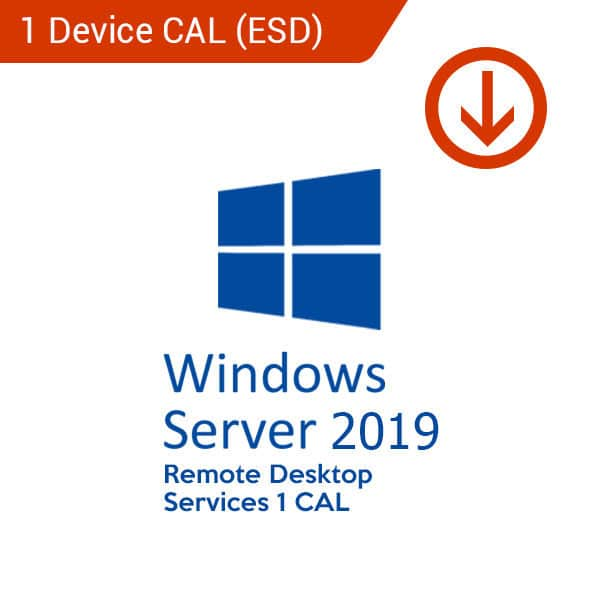 Microsoft Windows Server 2019 Remote Desktop Services 1 CAL (ESD)