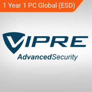 1 Year 1 PC Global (ESD) vipre advanced security