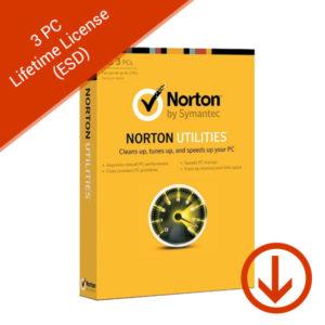norton utilities 3 pc lifetime license esd