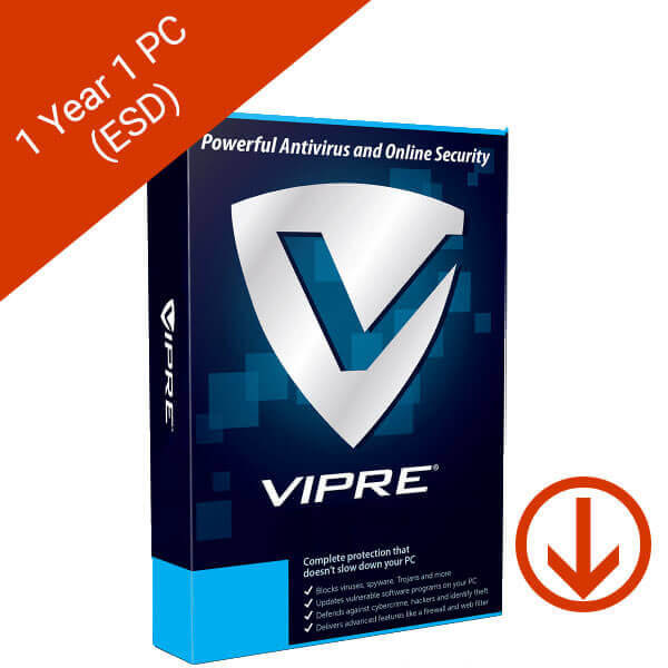VIPRE Advanced Security 2019 1 Year 1 PC – 2 – esd