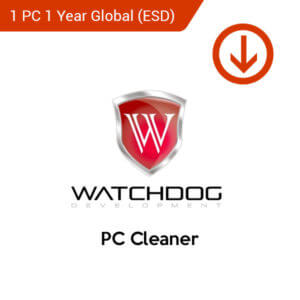 warchdog pc cleaner 1 pc 1 year global esd