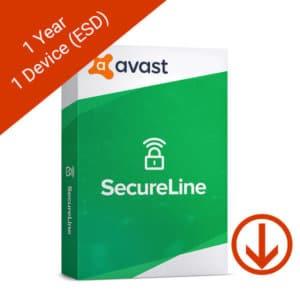 avast secureline 1 year 1 device esd