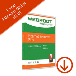 webroot secureanywhere 1 year 3 devices global esd internet security plus