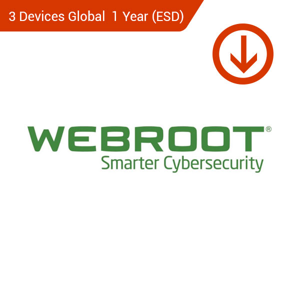 webtoot secureanywhere smart cyberscurity 3 devices global 1 year esd