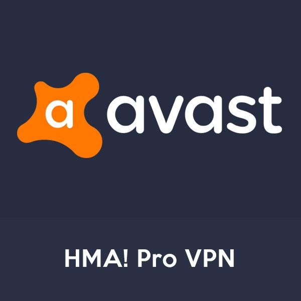 avast HMA! pro vpn product