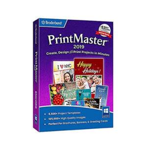 Broderbund Printmaster 2019