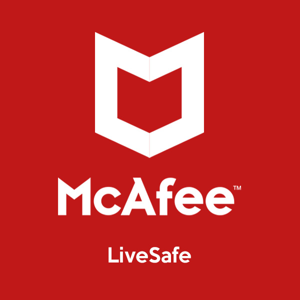 mcafee livesafe product of softvire