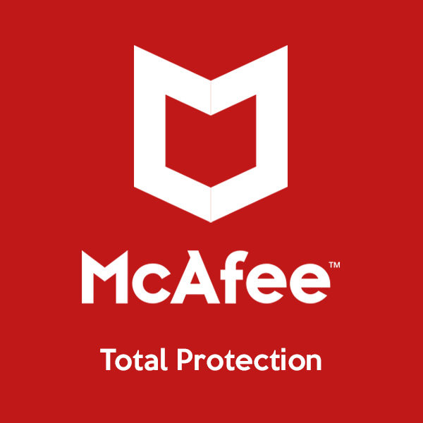 mcafee total protection product of softvire