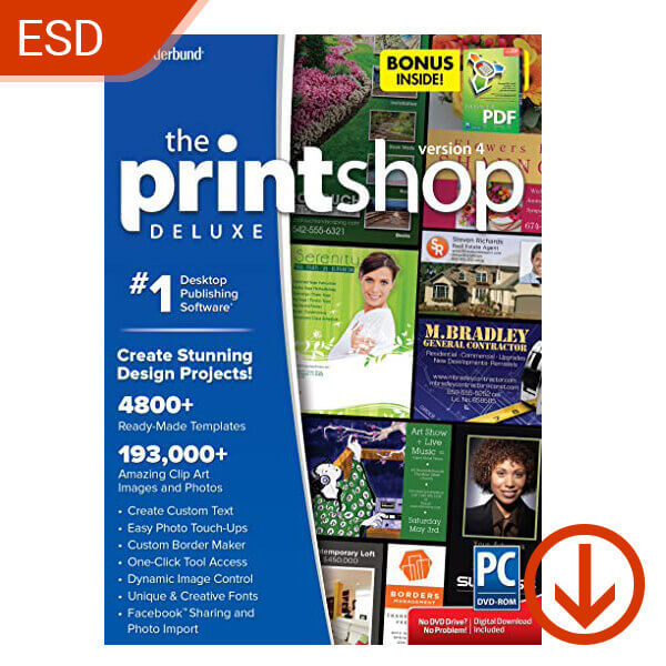 The Print Shop 5 Deluxe – ESD – 1