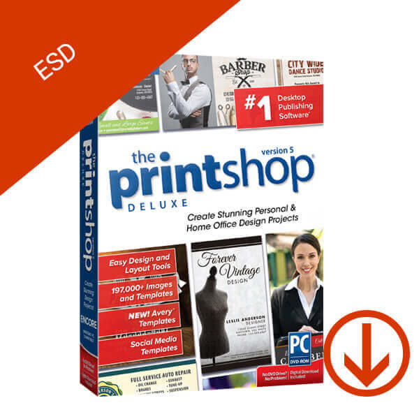 The Print Shop 5 Deluxe – ESD – 2
