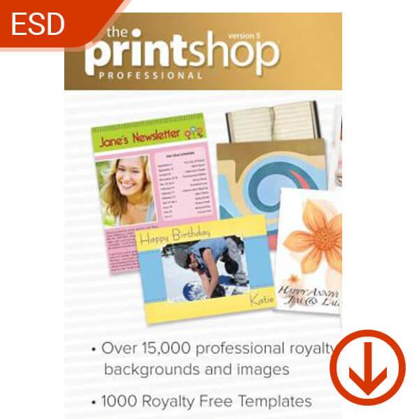 The Print Shop 5 Pro – ESD – 1