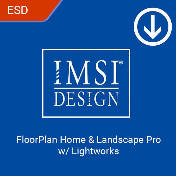 FloorPlan Home & Landscape Pro w Lightworks