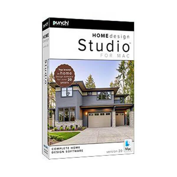 Punch! Home Design Studio for Mac v20 – box