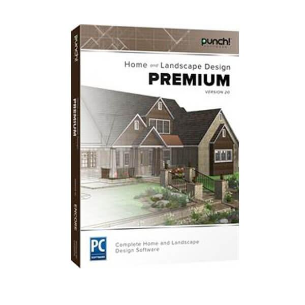 Punch! Home & Landscape Design Premium v20 – box