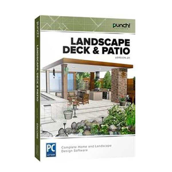 Punch! Landscape, Deck & Patio v20 – box