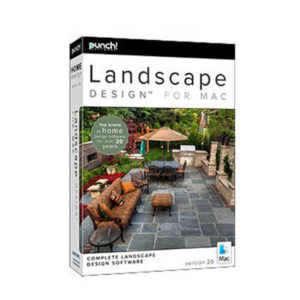 Punch! Landscape Design for Mac v20 box
