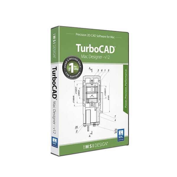 TurboCAD MAC Designer 2D v12 – box
