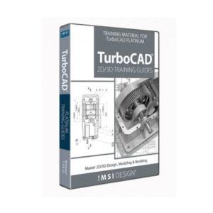 Turbocad Bundle 2020 imsi design 2d/3d training guides