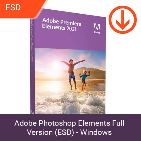 Adobe Photoshop Elements Full Version (ESD) - Windows